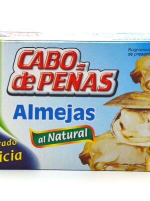 Almejas Al Natural Cabo De Peñas