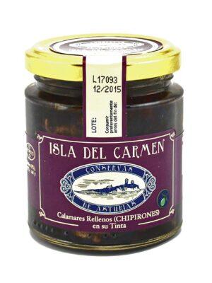 Chipirones en su tinta Isla del Carmen