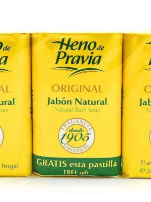 Jabón Natural Heno De Pravia Original