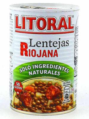 Lentejas Riojana Litoral