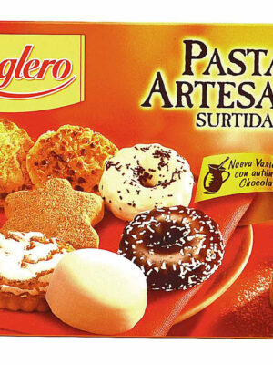 Pastas artesanas surtidas Reglero