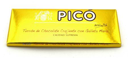Pacomer Traiteur Shop turron chocolate crujiente con galleta maria