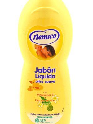 Jabón líquido ultra suave Nenuco