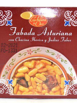 Fabada Asturiana con Chacina Ibérica y Judías Fabes