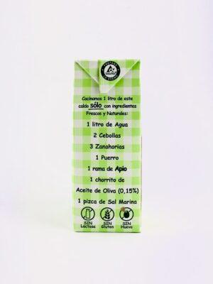 Caldo de Verduras Aneto 100% Natural