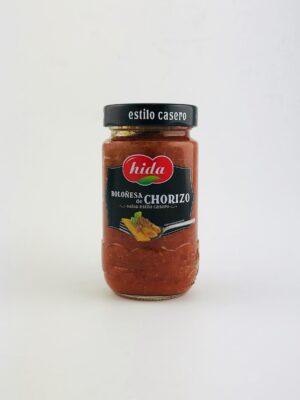 Tomatensaus met chorizo