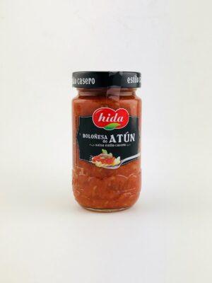 Tomatensaus bolognese stijl met tonijn