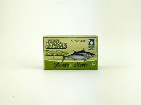 bonito tonijn in biologische olijfolie