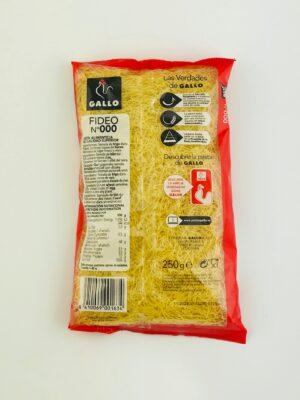 Fideo 000 Gallo – Spaanse pastasoort