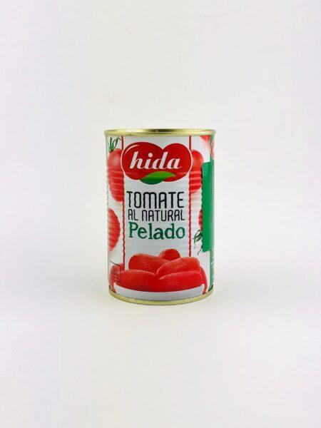 gepelde tomaten blik