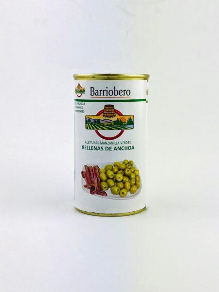 olijven gevuld met ansjovis in blik