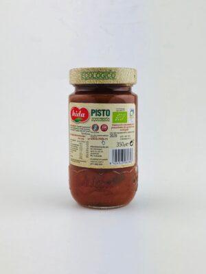 Pisto biologische tomatensaus met groente