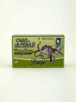 Pulpo, octopus in biologische olijfolie