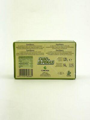 Sardientjes in biologische olijfolie