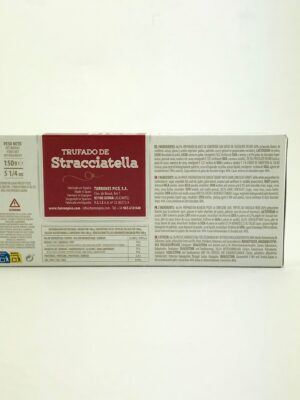 Turrón Straciatella