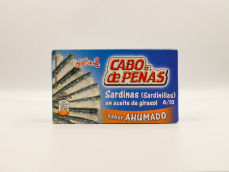 Sardinillas sabor ahumado